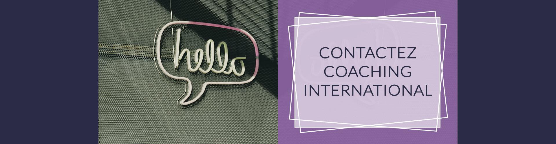 Contactez Verso Coaching International