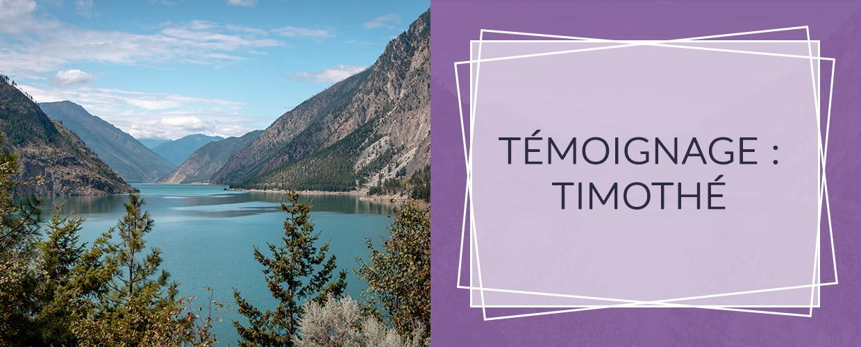 TÉMOIGNAGE : Timothé - Poursuite d'études au Canada